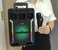 Колонка KIMISO QS-627 BT (с проводным микрофоном) (6,5' BASS/1000 W)