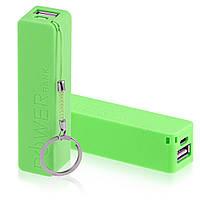 Портативное зарядное устройство Mobile Power Bank 2600mAh (зеленый)