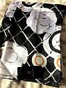 Шелковый платок палантин 2 цвета, фото 4