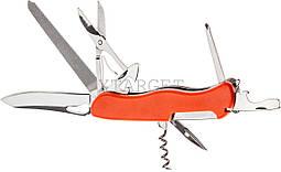 Нож PARTNER HH042014110 на 10 инстр. оранжевый