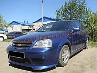 Передний бампер Kato для Chevrolet Lacetti 2004-12