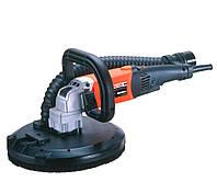 Ручная шлифовальная машина для штукатурки, 1200Вт, 650-1450об/мин, диск 225мм, 3,0 кг AGP HS225.