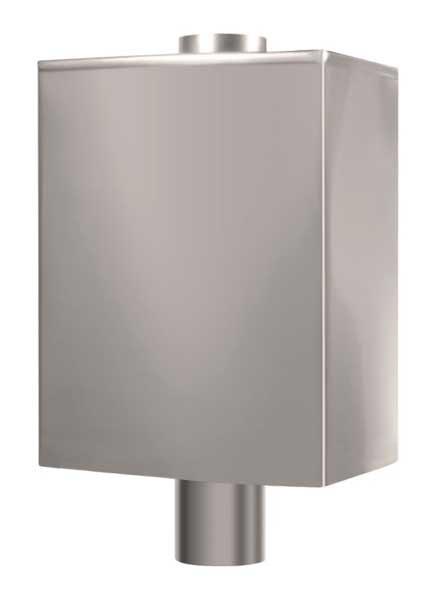Бак для воды на дымоход ПАРУС 50 П для бани и сауны