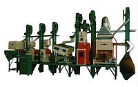 Рисовый завод Китай 18 - 150 тонн в сутки