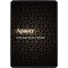 """Накопичувач SSD 2.5"""" 120GB Apacer (AP120GAS340G), Гарантія 36мес"""