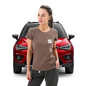 Женская футболка СЕАТ
