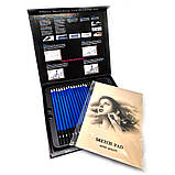 Профессиональный набор графитных карандашей 50 предметов для скетчинга и рисования Скетч карандаши для графики, фото 8