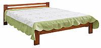 Кровать деревянная 1600, цвет яблоня