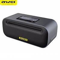 Портативная беспроводная колонка с сабвуфером Awei Y600 2.1 Super Bass 18Вт (Bluetooth, NFC, MP3, AUX)