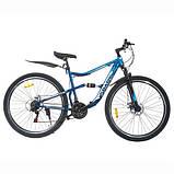 Велосипед SPARK BULLET 18 (колеса - 27,5'', сталева рама - 18''), фото 4
