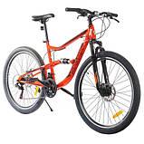 Велосипед SPARK BULLET 18 (колеса - 27,5'', сталева рама - 18''), фото 5