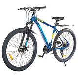 """Велосипед SPARK LEGIONER 19 (колеса - 27,5"""", алюмінієва рама - 19""""), фото 4"""