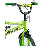 "Велосипед SPARK KIDS MAC 9,5 (колеса - 18"", сталева рама - 9,5""), фото 4"