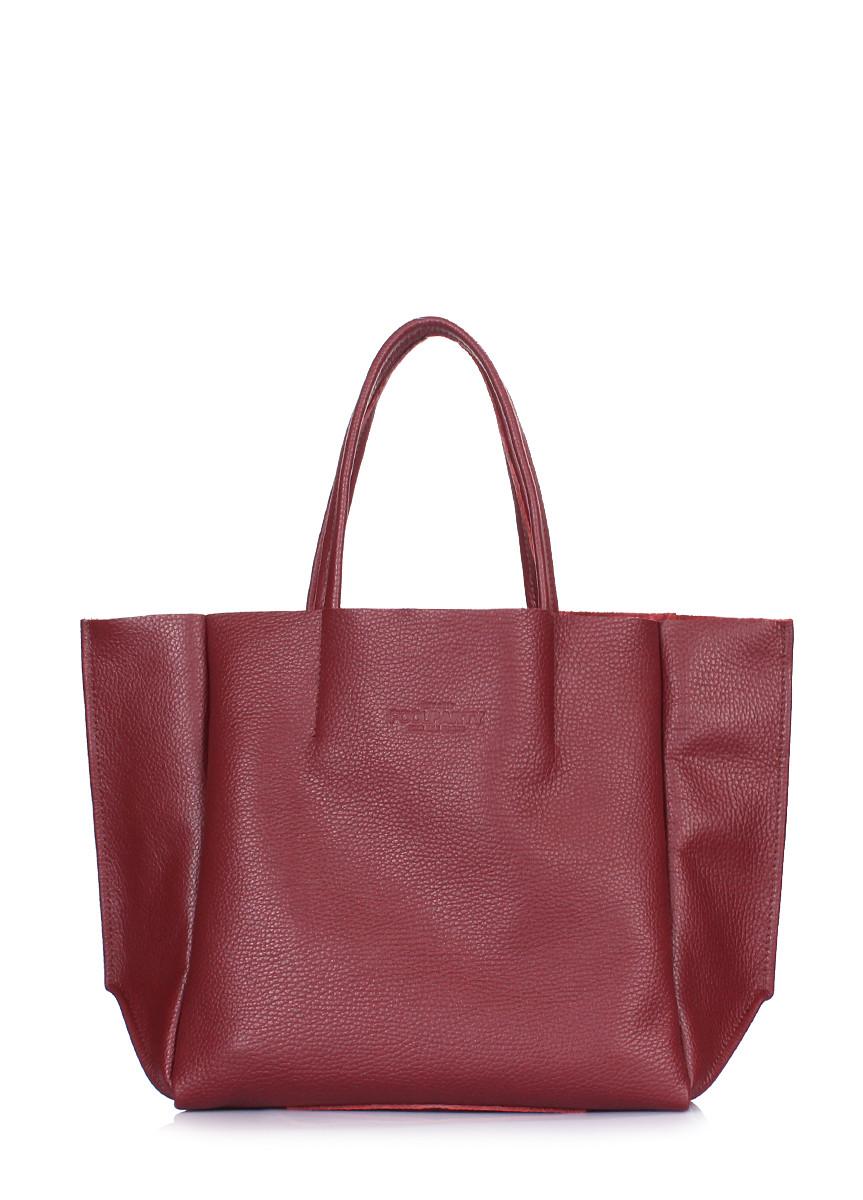 Шкіряна сумка POOLPARTY Soho Mini