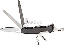 Нож PARTNER HH062014110 на 9 инстр. черный