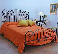 Кованые двуспальные кровати