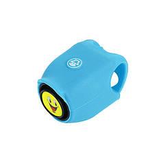 Дзвінок електронний West Biking N. 8861 0706041 Blue велосипедний сигнал гудок для велосипеда