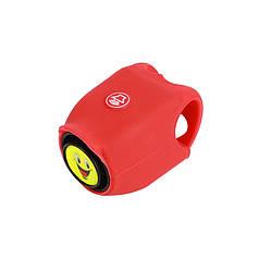 Дзвінок електронний West Biking N. 8861 0706041 Red велосипедний сигнал гудок для велосипеда