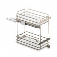 Inoxa Карго для кухні, серія Ellite 500мм, напрямні Grass 5102E(AS)/50-45
