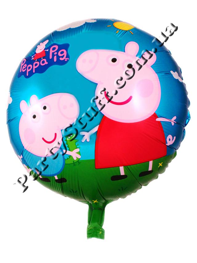 Воздушные шарики Свинка Пепа