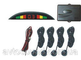 Парковочный радар TIGER TG-P4 black LCD