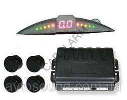 Парковочный радар TIGER TG-P4 black SLIM