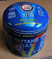 Газовый баллон VITA 190 грамм Gas Stop Греция
