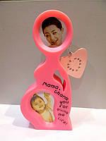 Оригинальная фоторамка Мама с ребенком на подарок к любому празднику