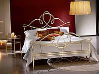Кованая кровать односпальная