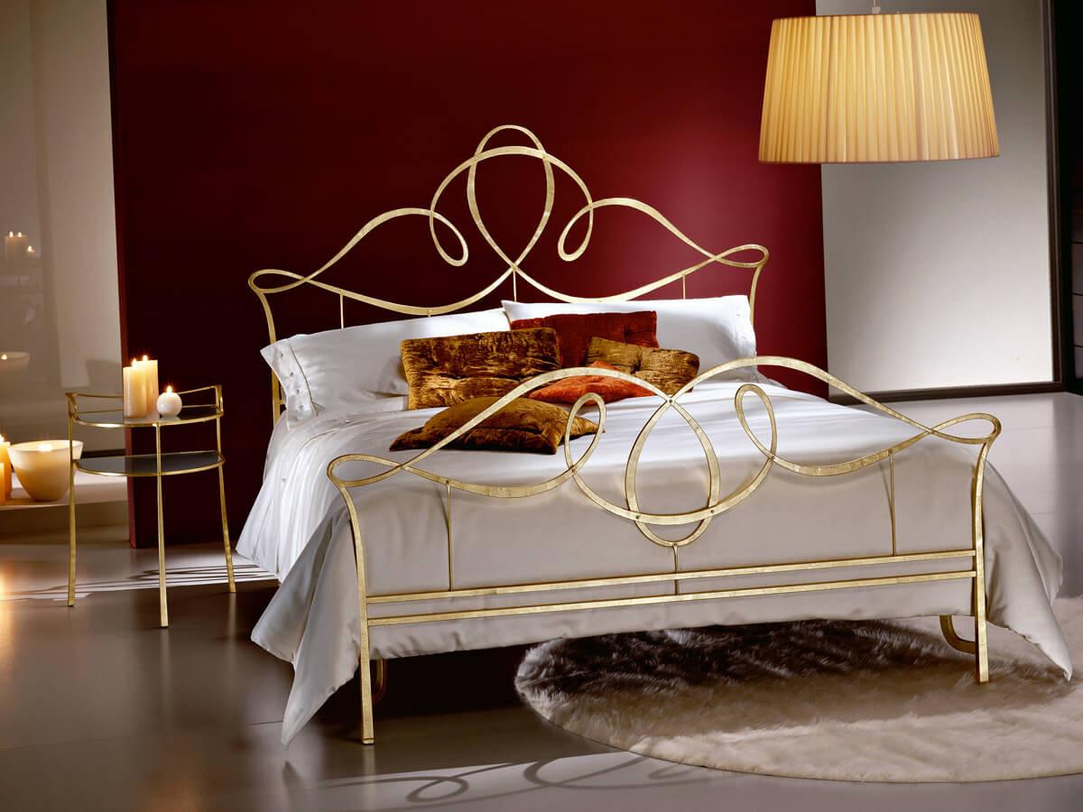 Кованая кровать односпальная - OOO «Металл Комфорт Сервис»  в Одессе