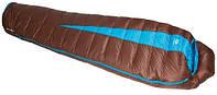 Очень легкий спальный мешок Sir Joseph Paine 400/190/-5°C Brown/Turquoise (Left) 922292 коричневый