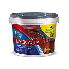 Акриловий лак NanoFarb Lack Aqua глянсовий 10л