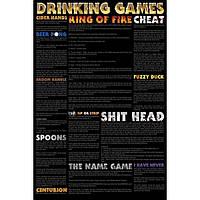 """Постер """"Drinking games"""""""