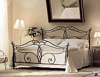 Кровать с кованными спинками