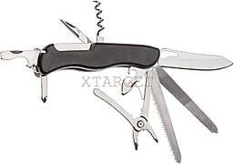 Нож PARTNER HH072014110OR на 11 инстр. черный