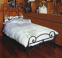 Спальни с кованными кроватями