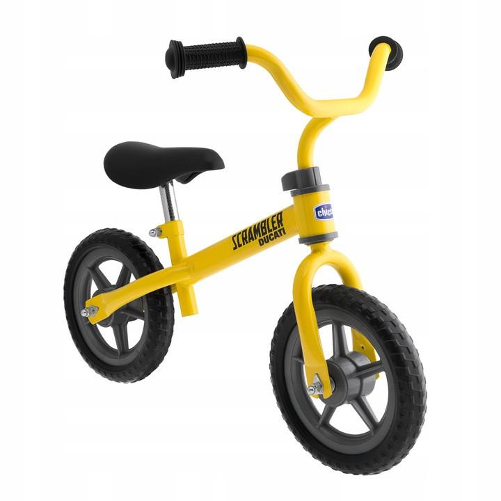 Беговел Chicco Ducati желтый 2-5 лет