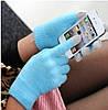 Перчатки для сенсорных экранов Touch Gloves blue, фото 5