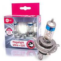 Автолампа Megalight Ultra Н4+120%  (Венгрия)