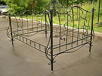 Кровати железные кованые