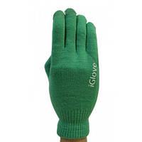 Перчатки для сенсорных экранов iGlove зеленые