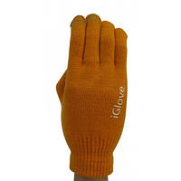 Перчатки для сенсорных экранов iGlove оранжевые