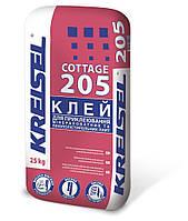 KREISEL 205 Суміш для приклеювання мінераловатних та пінополістирольних плит COTTAGE,25кг