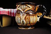 Керамическая чашка бочка