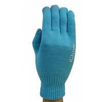 Перчатки для сенсорных экранов iGlove голубые