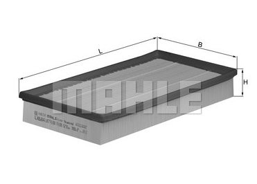 Воздушный фильтр Knecht LX684