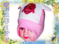 Детские весенние шапочки от производителя
