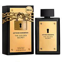 Туалетная вода для мужчин  Антонио Бандерас Голд сикрет Antonio Banderas  The Golden Secret 100мл