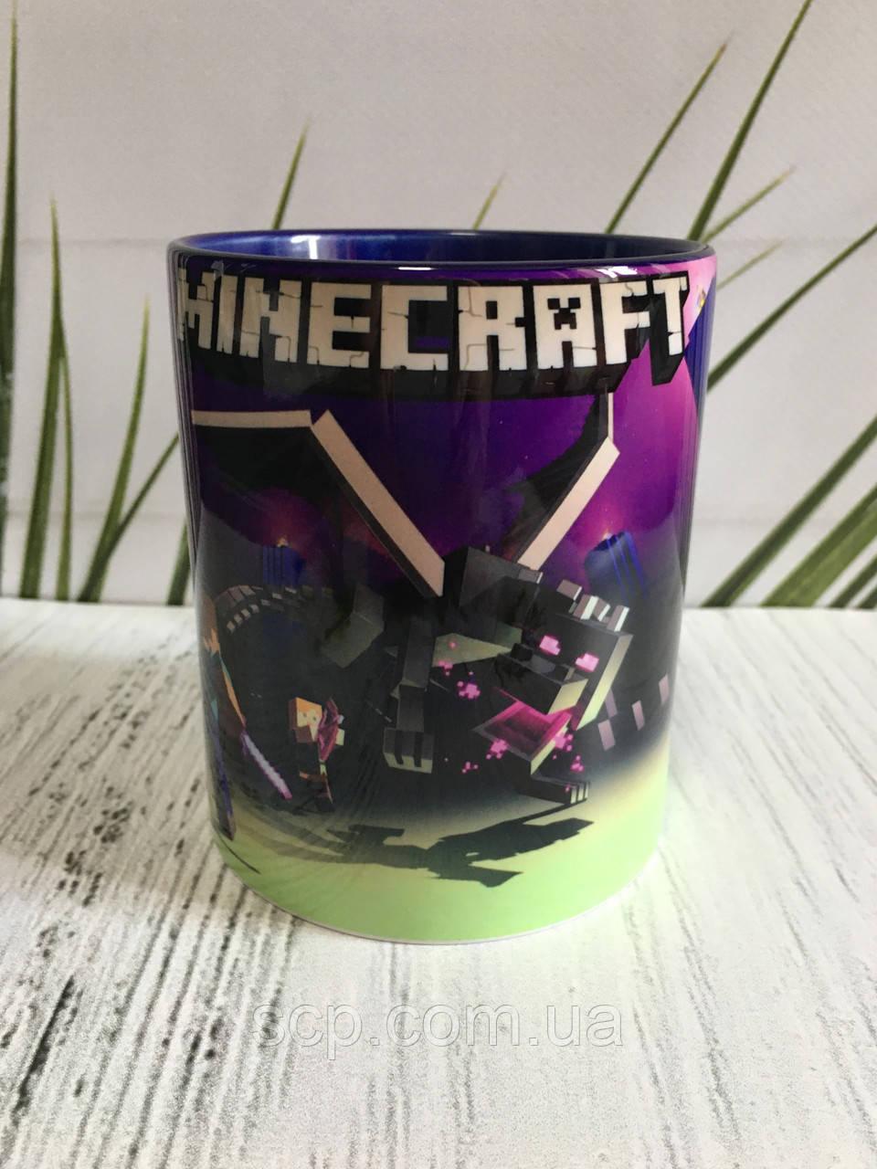 Чашка Minecraft (Майнкрафт)
