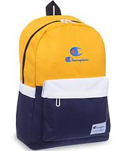 Рюкзак городской CHAMPION 805  Темно-синий-желтый